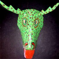 Painted Deer Mask
