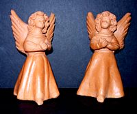 Standing Ceramic Angel